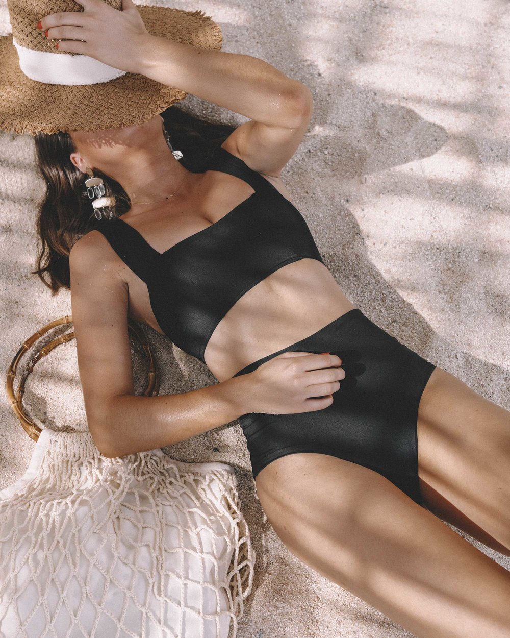 LSpace Women's Parker Bikini in Black One&Only Palmilla in Los Cabos Mexico4.jpg