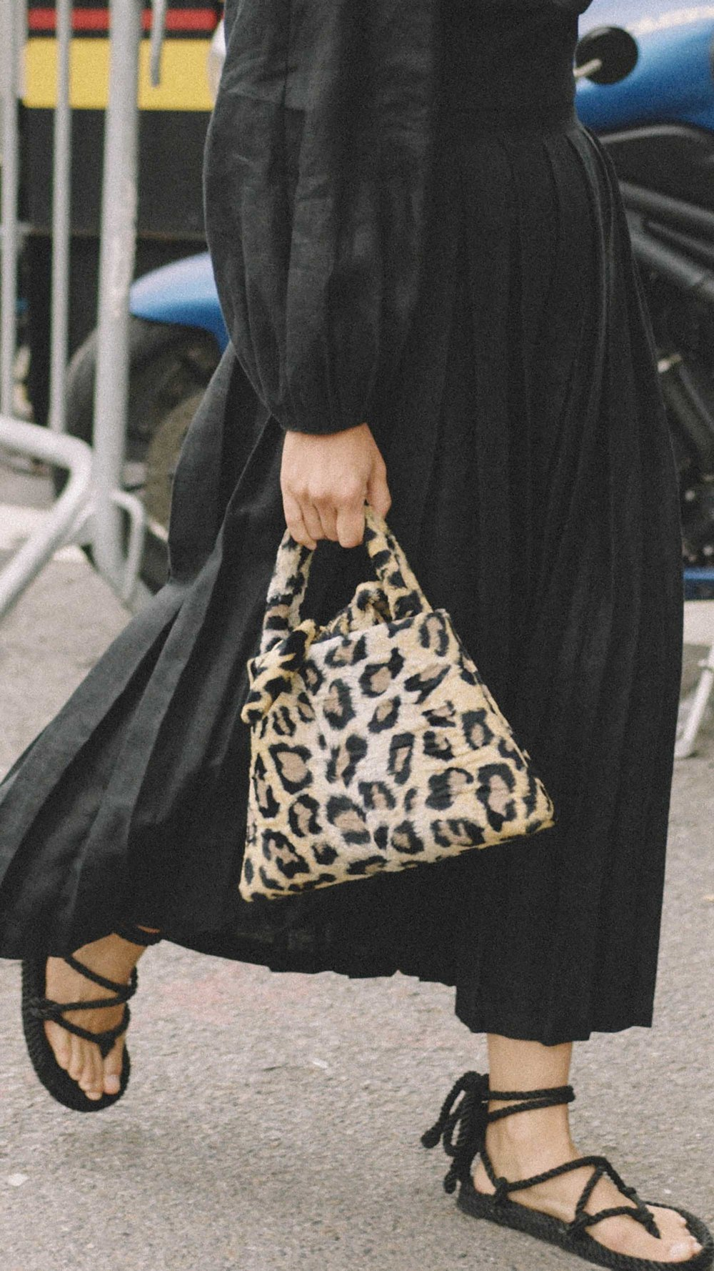 10 Easy Ways to Pull Off Animal Print, small leopard handbag.jpg