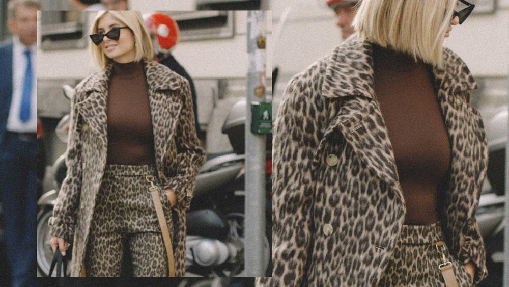 10 Easy Ways to Pull Off Animal Print, leopard suit, Xenia Overdose Street Style.jpg