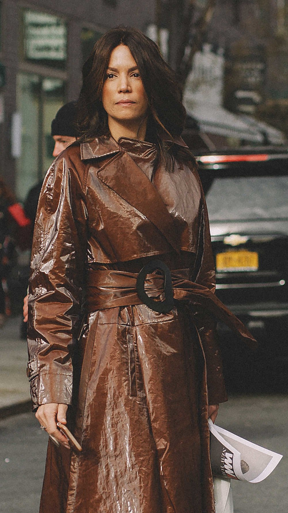 The Tibi Brown Trench Coat every blogger is wearing at NYFW4.jpg