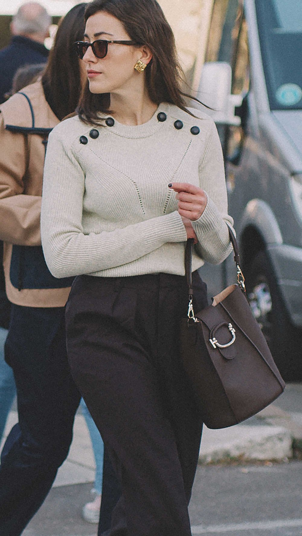 est outfits of Milan Fashion Week street style day two MFW FW19 21.jpg