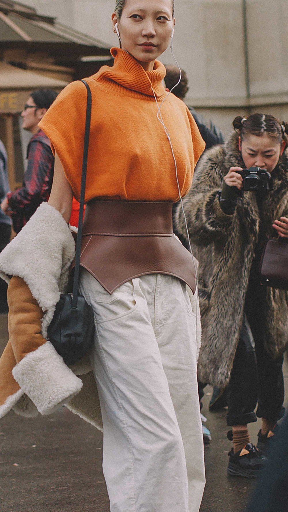 Best outfits of Paris Fashion Week street style day five PFW FW19 - 30.jpg