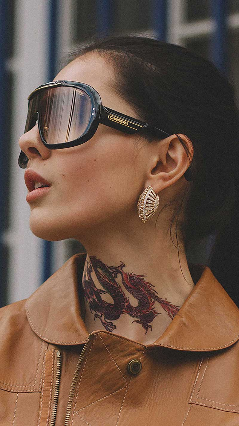 3. Carrera - Epica oversized sunglasses
