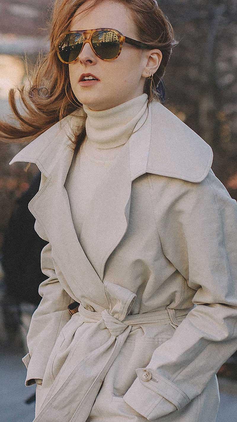 8. Stella McCartney - Rounded aviator sunglasses