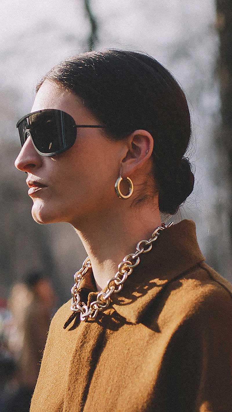 9. Acne Studios - Mask sunglasses