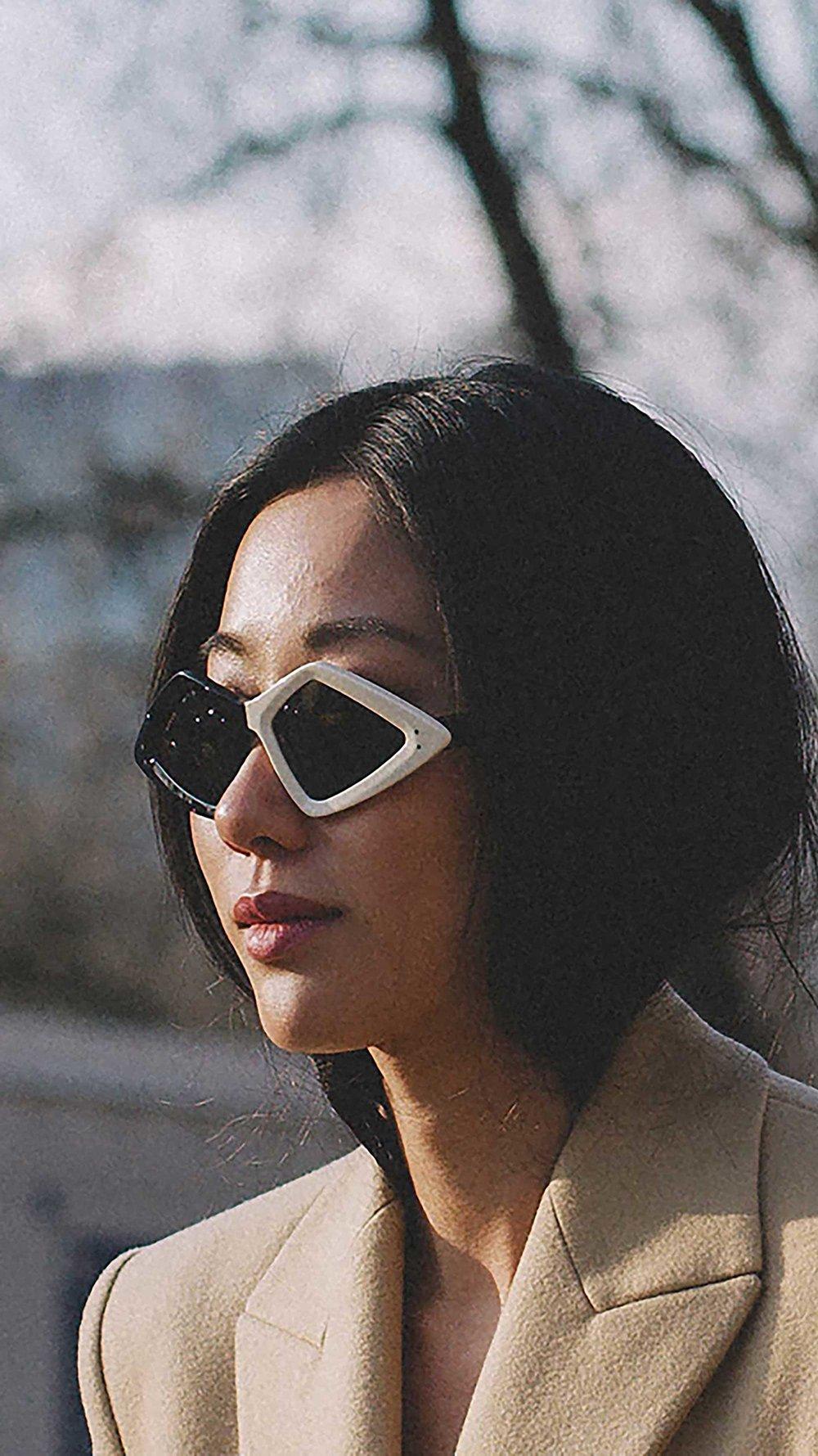 15. Gucci - Diamond-frame acetate sunglasses