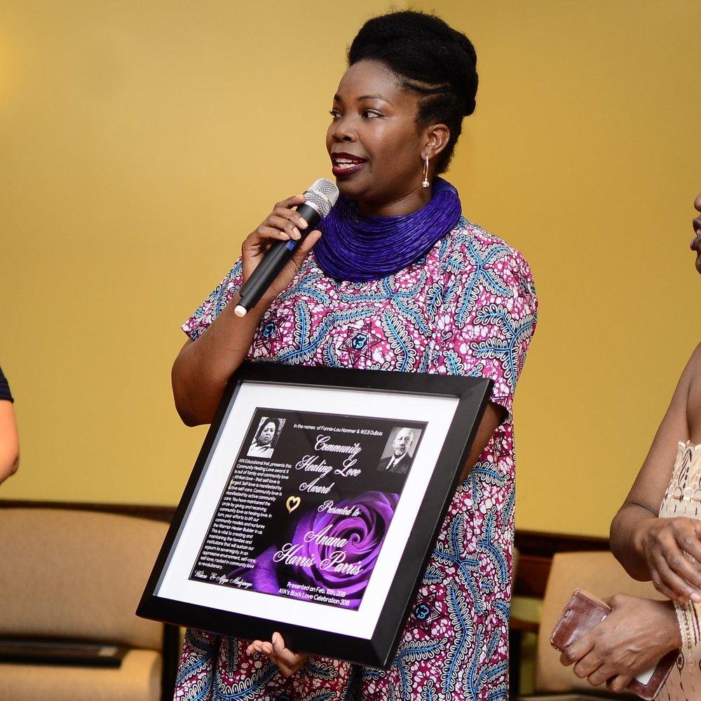 Community Love Honoree Anana Harris-Parris