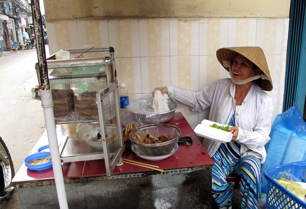 Bun Thit Nuong Food Stall