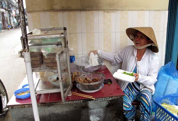 Bun Thit Nuong Food Stall