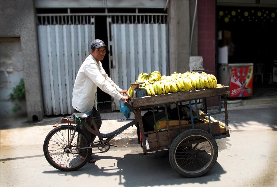 Hideaway Banana Cart