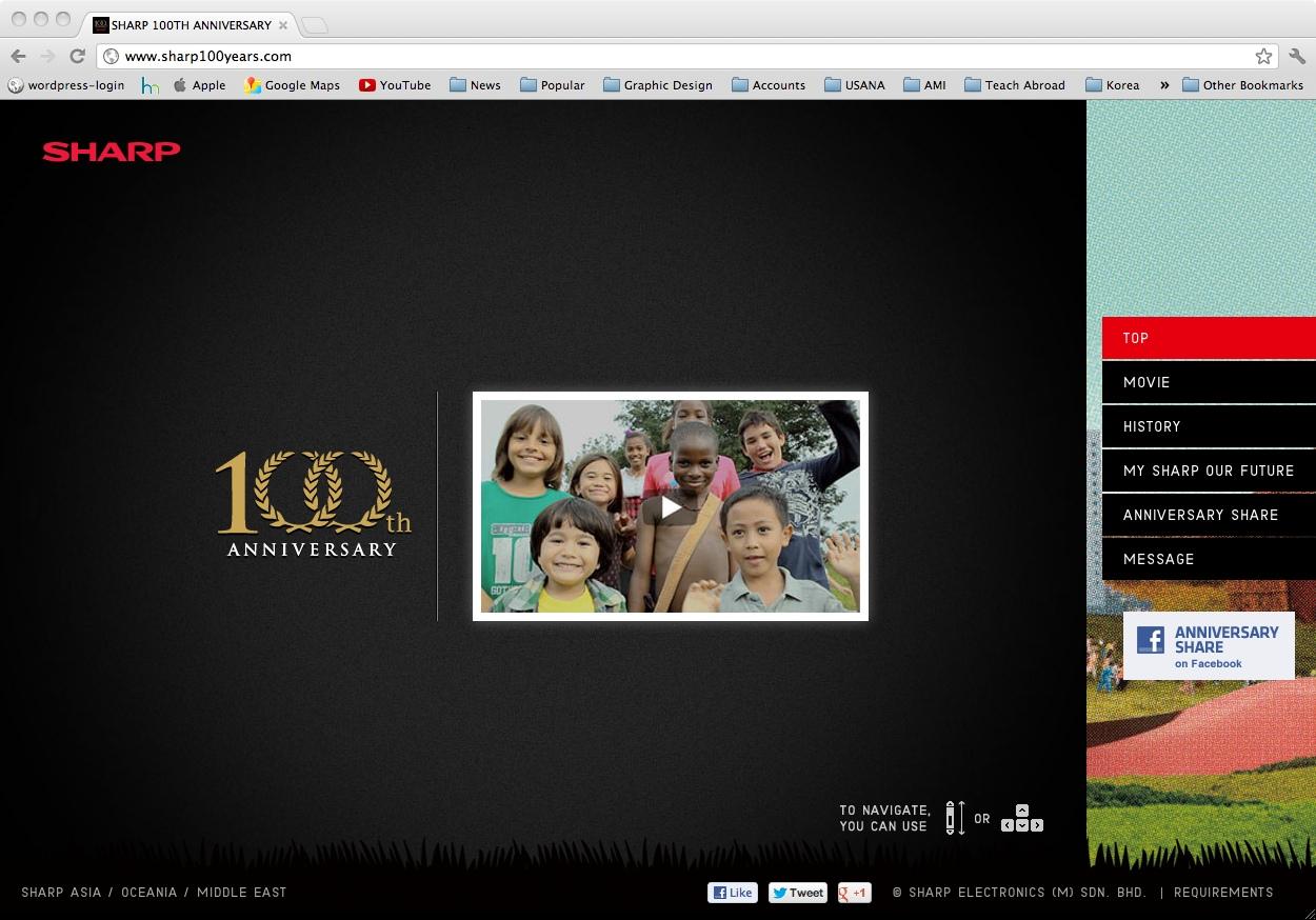 Sharp's 100th Anniversary