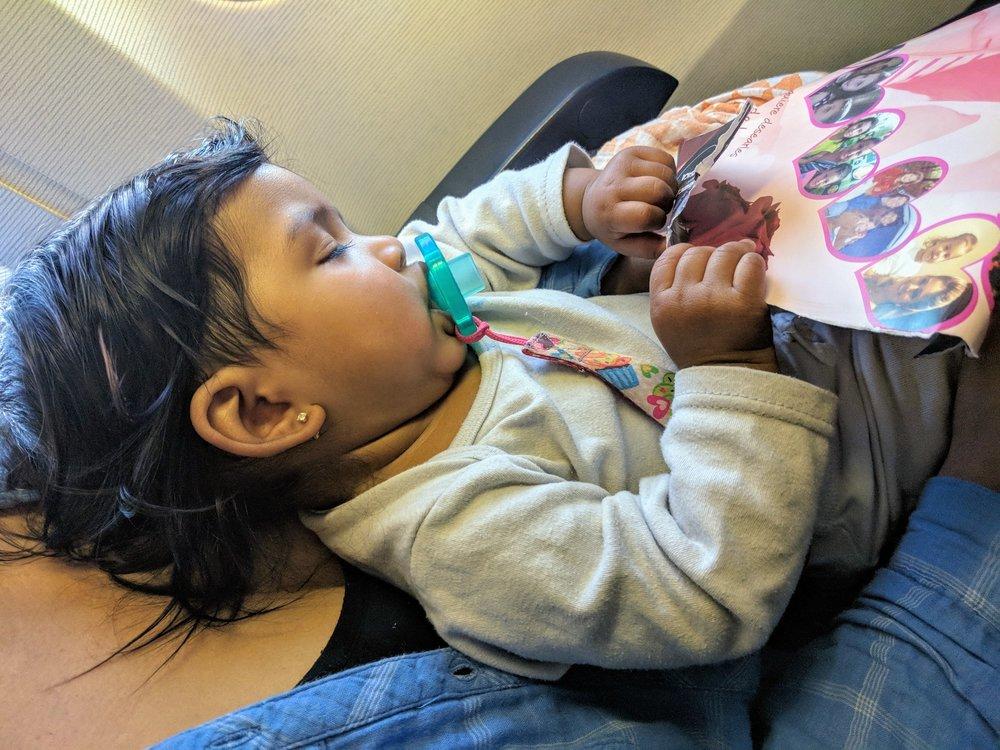 Travel around baby's sleep schedule.
