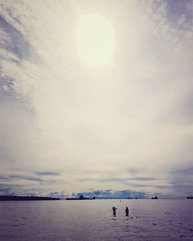 Friends, community, ocean, and fresh air. . 📸 @petescottttt captured this photo of me and one of my closest friends yesterday at 3rd beach. . Enjoy the moments you spend with the people you love. Allow yourself to feel happiness as it comes to you in the present moment.  #presentpresence #mindfulness #compassion #counsellingvancouver #acwcounselling