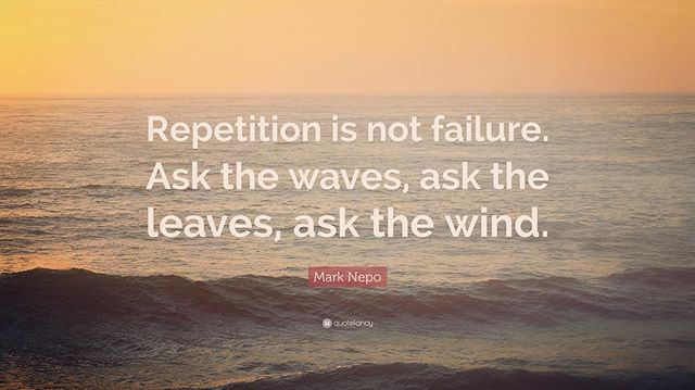 Ask the waves, ask the leaves, ask the wind... . . #marknepoquotes