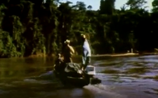 outboard on the Orinoco