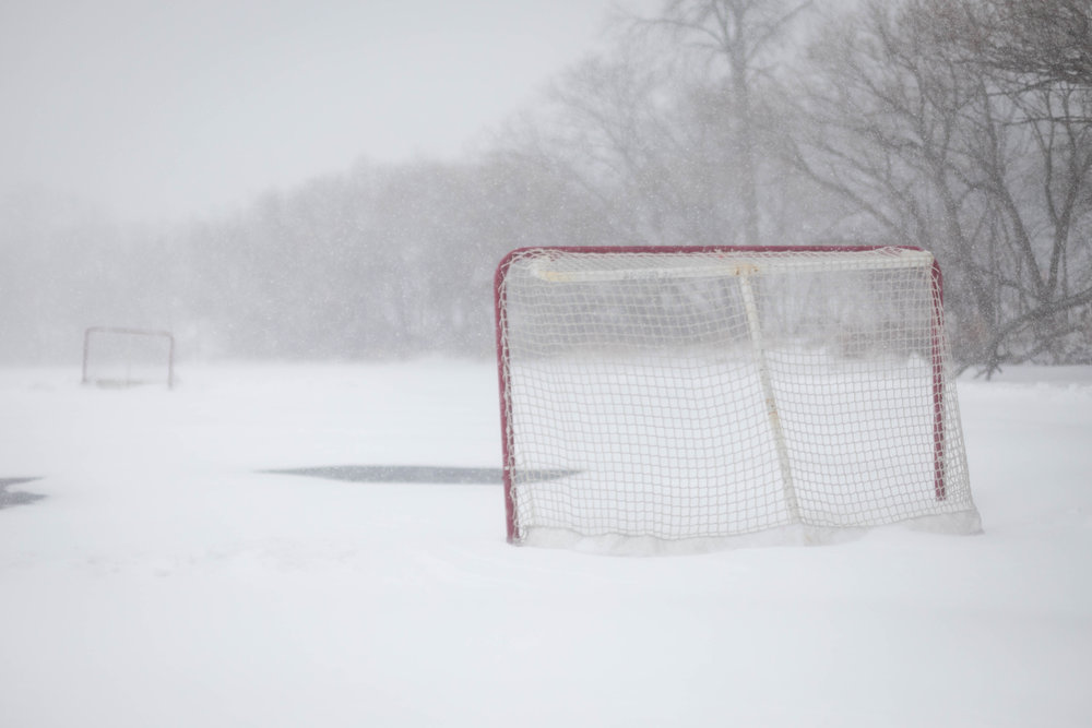blizzard hockey - lake harriet, minneapolis