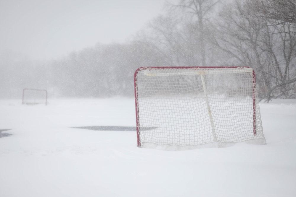 blizzard hockey - lake harriet, minneapolis