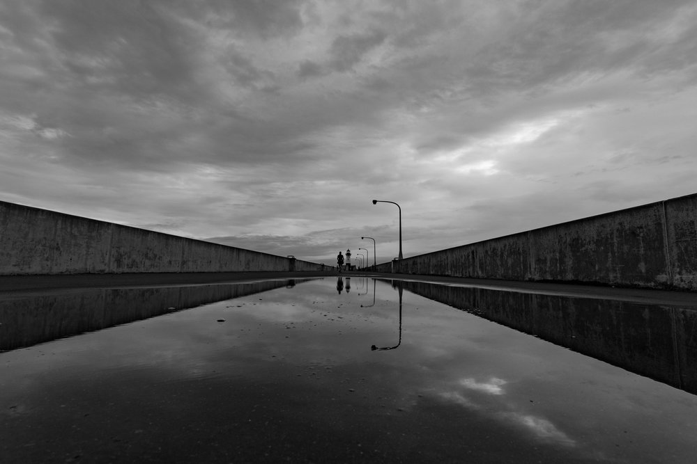 moody south pier - canal park, duluth