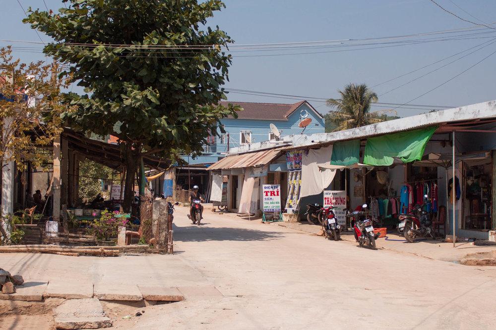 quiet streets - an thoi, vietnam