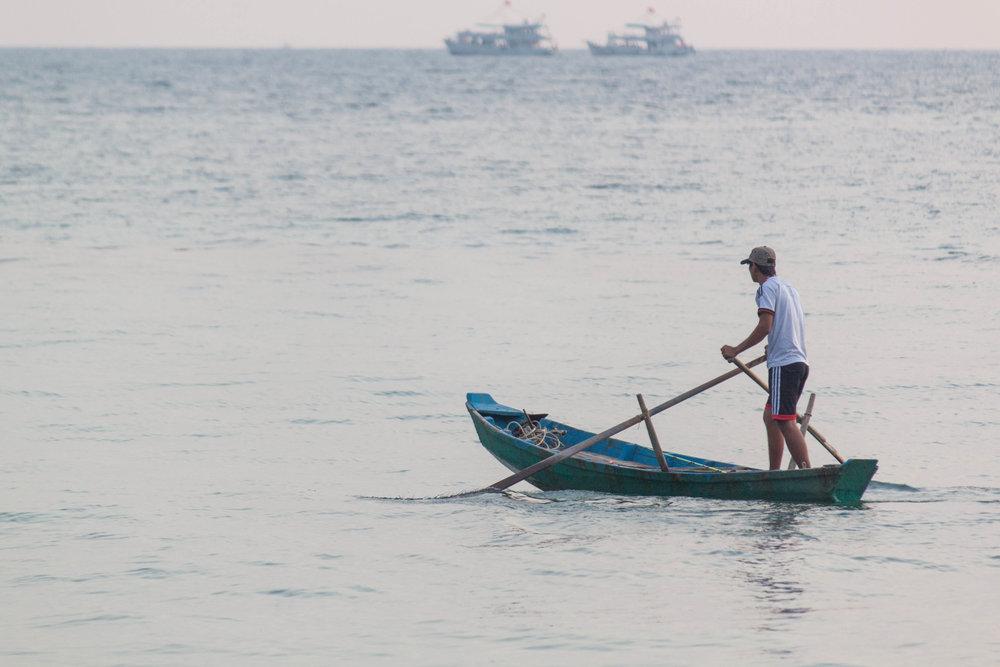 fisherman - phu quoc, vietnam