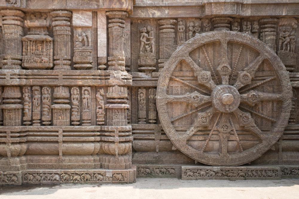 konark wheel - puri, india   from US$15