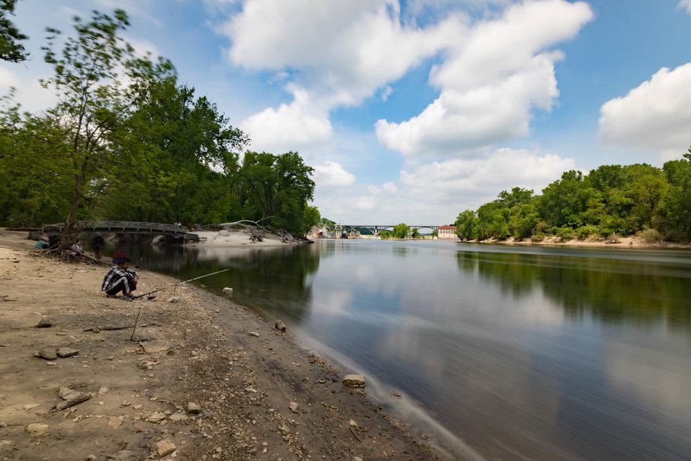 may 25, 2018  mississippi river - minneapolis, minnesota