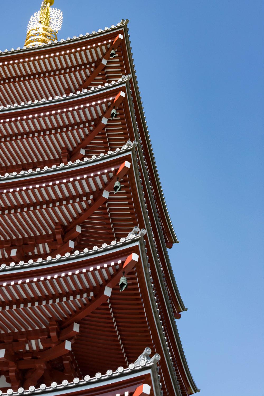 senso-ji pagoda - tokyo, japan