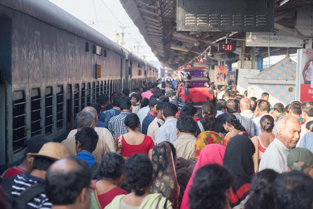 deboarding - puri, india