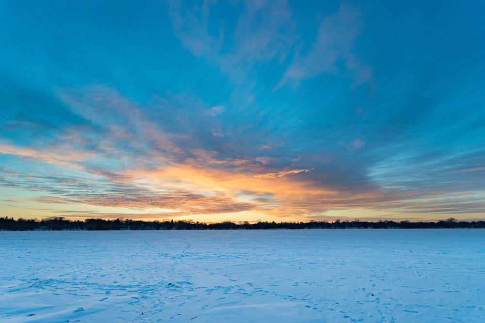 january 8, 2018  lake nokomis - minneapolis, minnesota