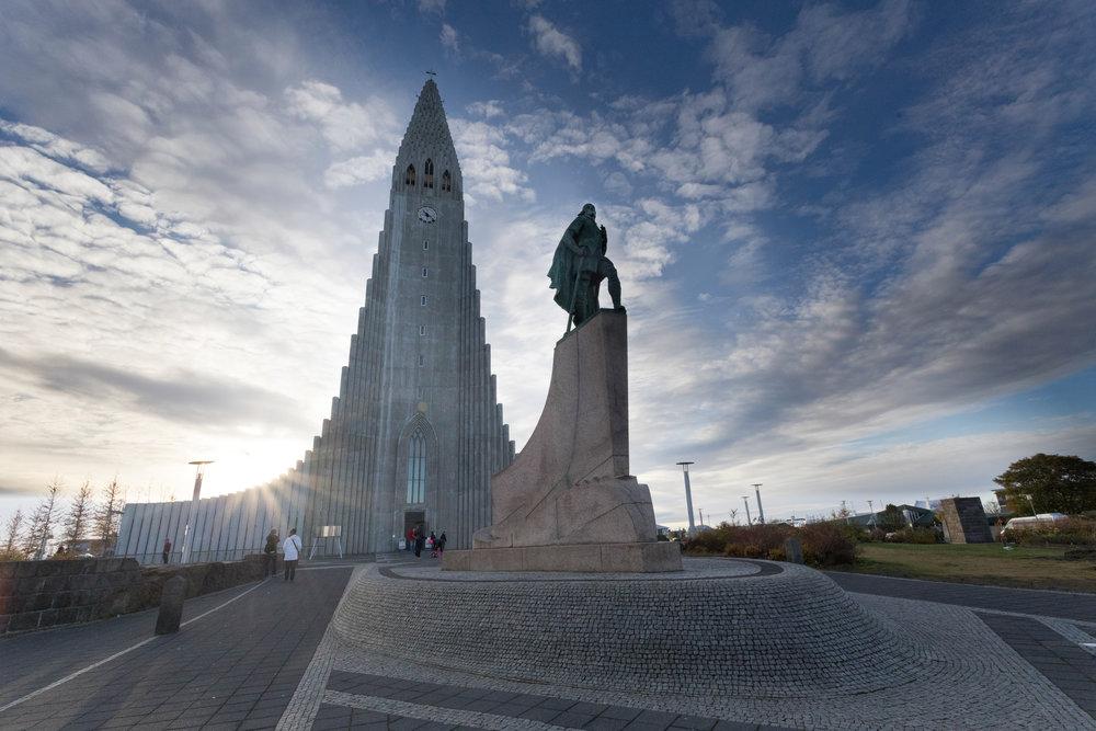 october 25, 2017  hallgrímskirkja - reykjavik, iceland