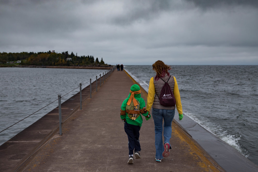 october 8, 2017  breakwater - two harbors, minnesota