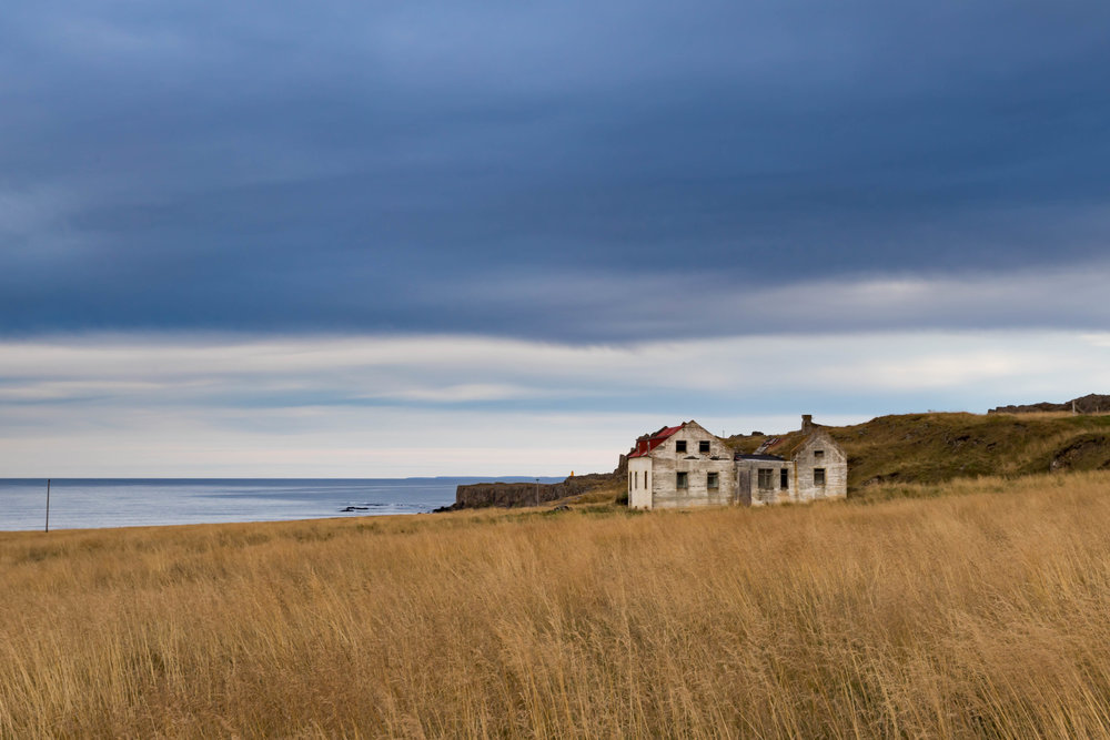 forsaken by the shore - vatnsnes peninsula