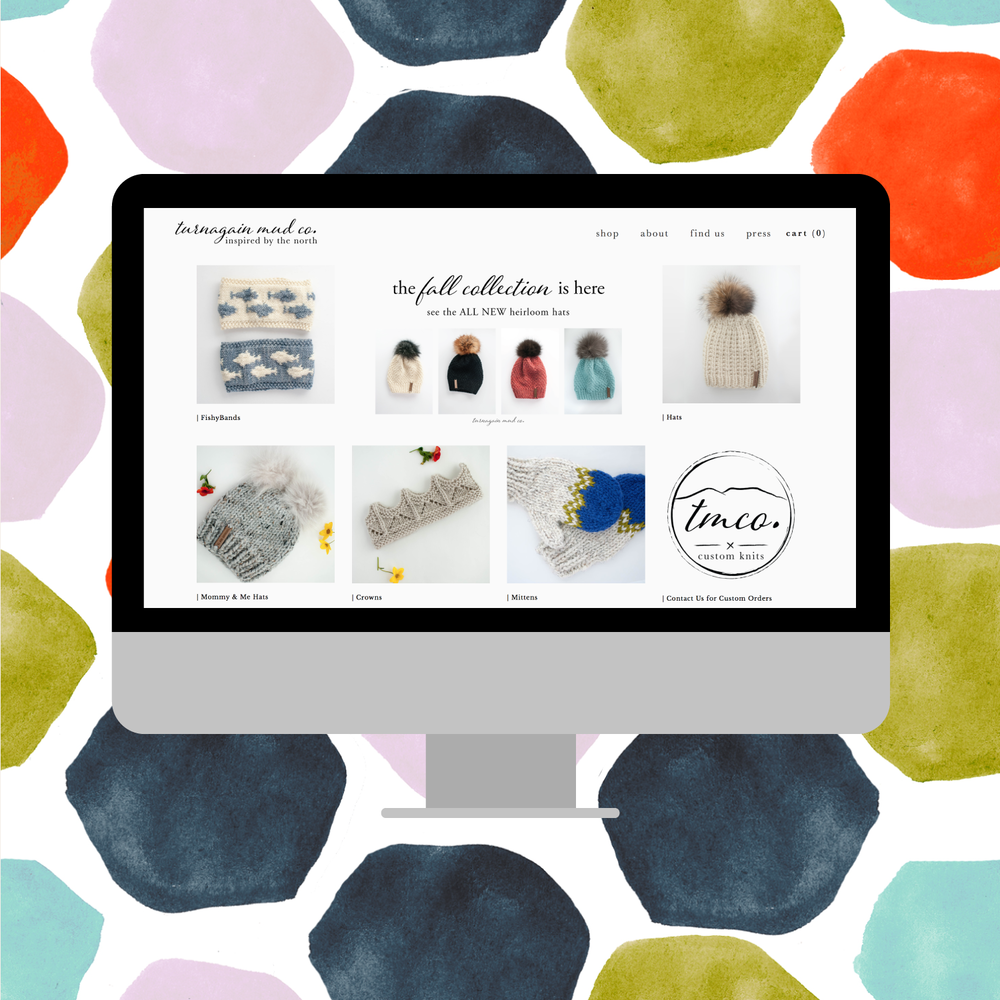 Turnagain Mud Co. - Logo, Brand, Web, & Photography