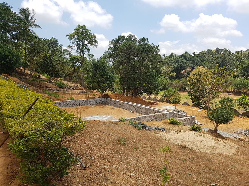 RS Mines, The Queen's Mines, natural Sri Lankan high carbon purity, crystalline vein graphite. RS Mines processing facility.