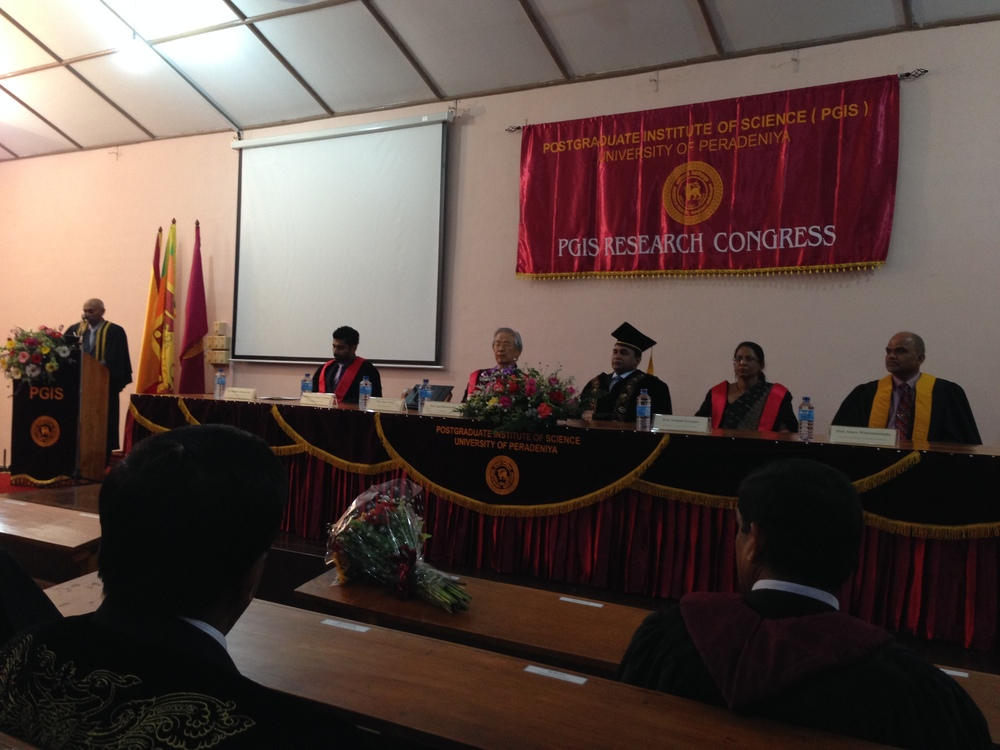 SR Mines, Mission Vector Partners - Japan - PGIS Conference at Peradeniya University