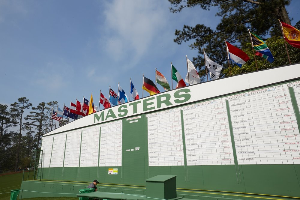 Limited places left for our US Masters tours.  Contact us today  to reserve your place.