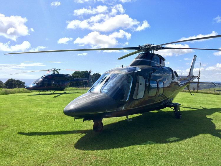 Luxury Helicopter transport