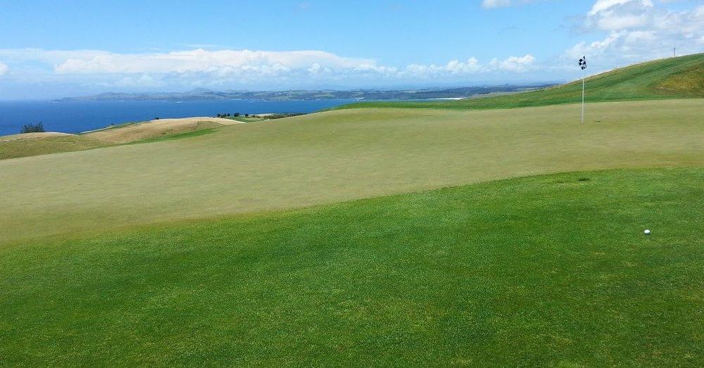 Admire the view - At Kauri Cliffs, New Zealand's premier golf destination