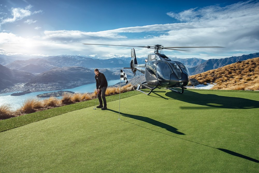 Over The Top - The World's Most Spectacular Par 3 Golf Experience. (Complimentary to you with our Majestic Queenstown Tour)