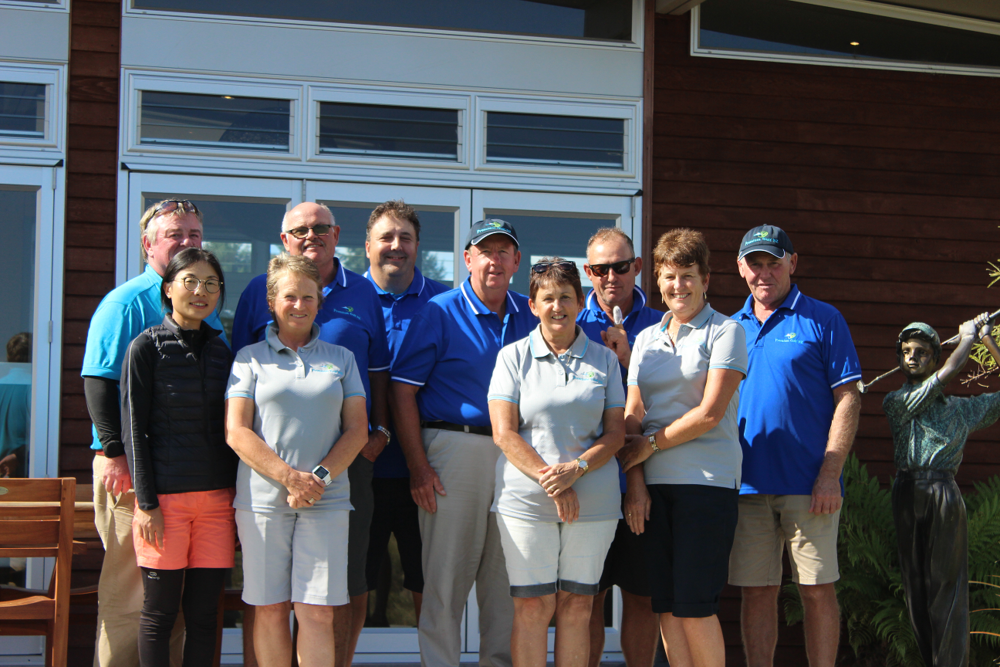 Premium Golf nZ Tour Group at the kinloch club