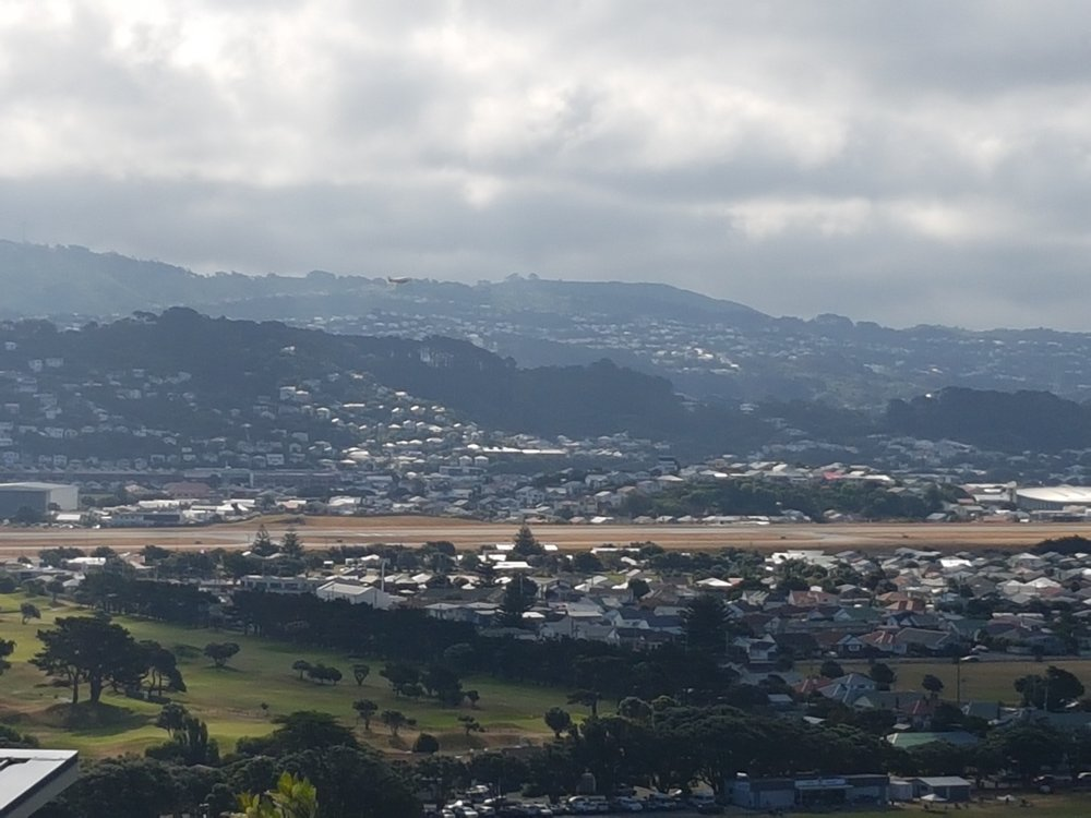 Miramar golf club next to Wellington airport