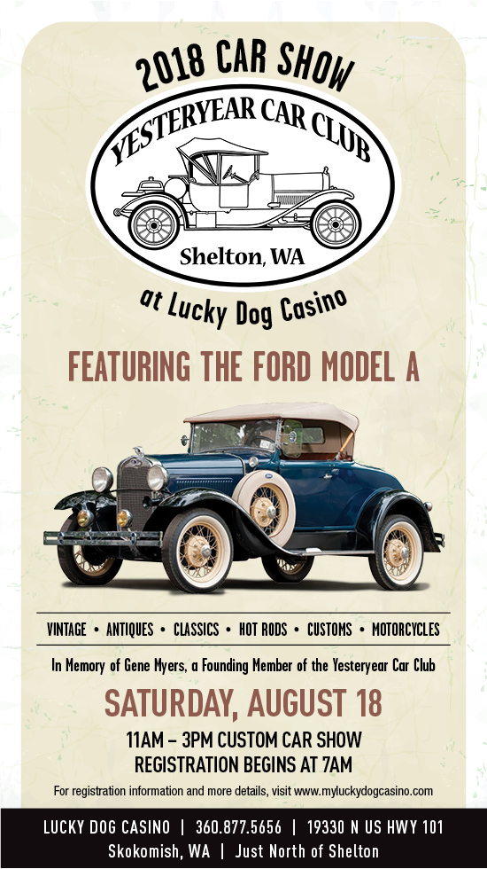 Car Show Lucky Dog Casino Gaming And Dining In Skokomish - Classic car show washington