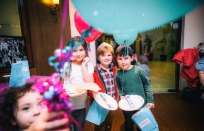 The jkids day camp Full-on comprehensive children's program, featuring engaging, hand-on creative activities...your kids will cherish these memories long after the weekend is over.