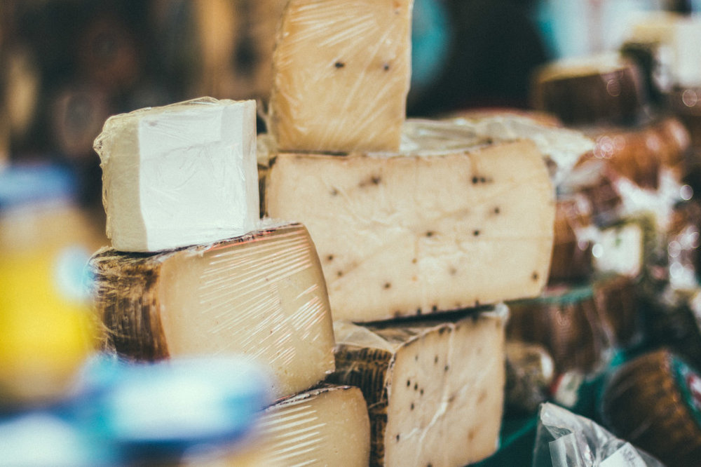 Avoid cheese with IBS