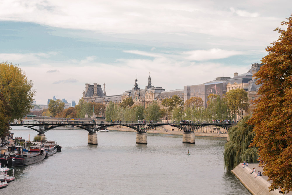 Views along the Seine