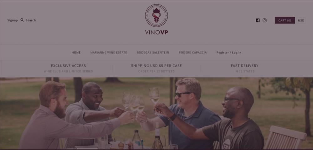 VinoVP USA shop