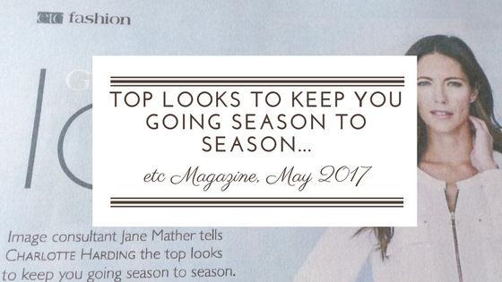 "ETC MAGAZINE: FEATURE ""TOP LOOKS TO KEEP YOU GOING SEASON TO SEASON"""