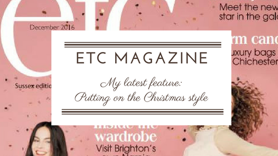 "ETC MAGAZINE: FEATURE ""PUTTING ON YOUR CHRISTMAS STYLE"""