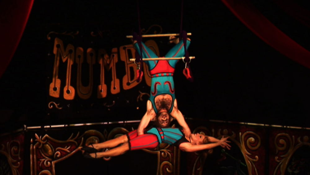 MUMBO, a   hybrid circus-burlesque-theater play, Baltimore Theater Project, 2009, Film Still by Kirsten D'Andrea Hollander