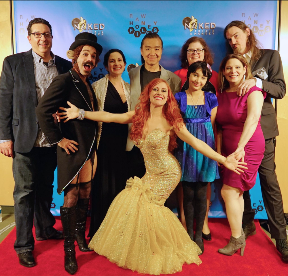 Baltimore Premiere with the Lees and Verdecchias, 2015, Photo by Sam Hollander